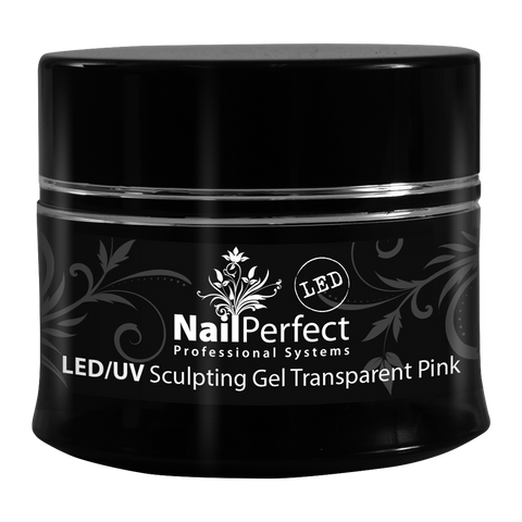 LED Sculpting Gel - Transparent Pink