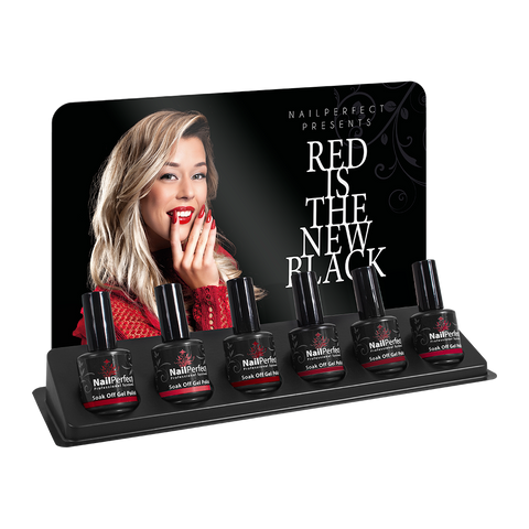 Soak Off Gel Polish - Red Is The New Black Collection