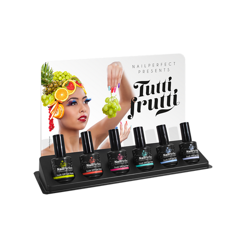 Soak Off Gel Polish - Tutti Frutti Collection