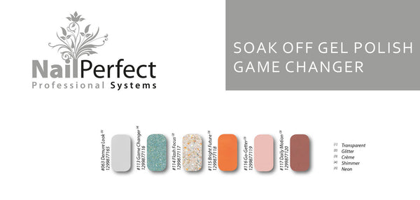 Soak Off Gel Polish - Game Changer Collection