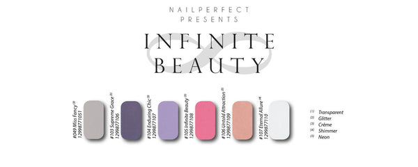 Soak Off Gel Polish - Infinite Beauty Collection