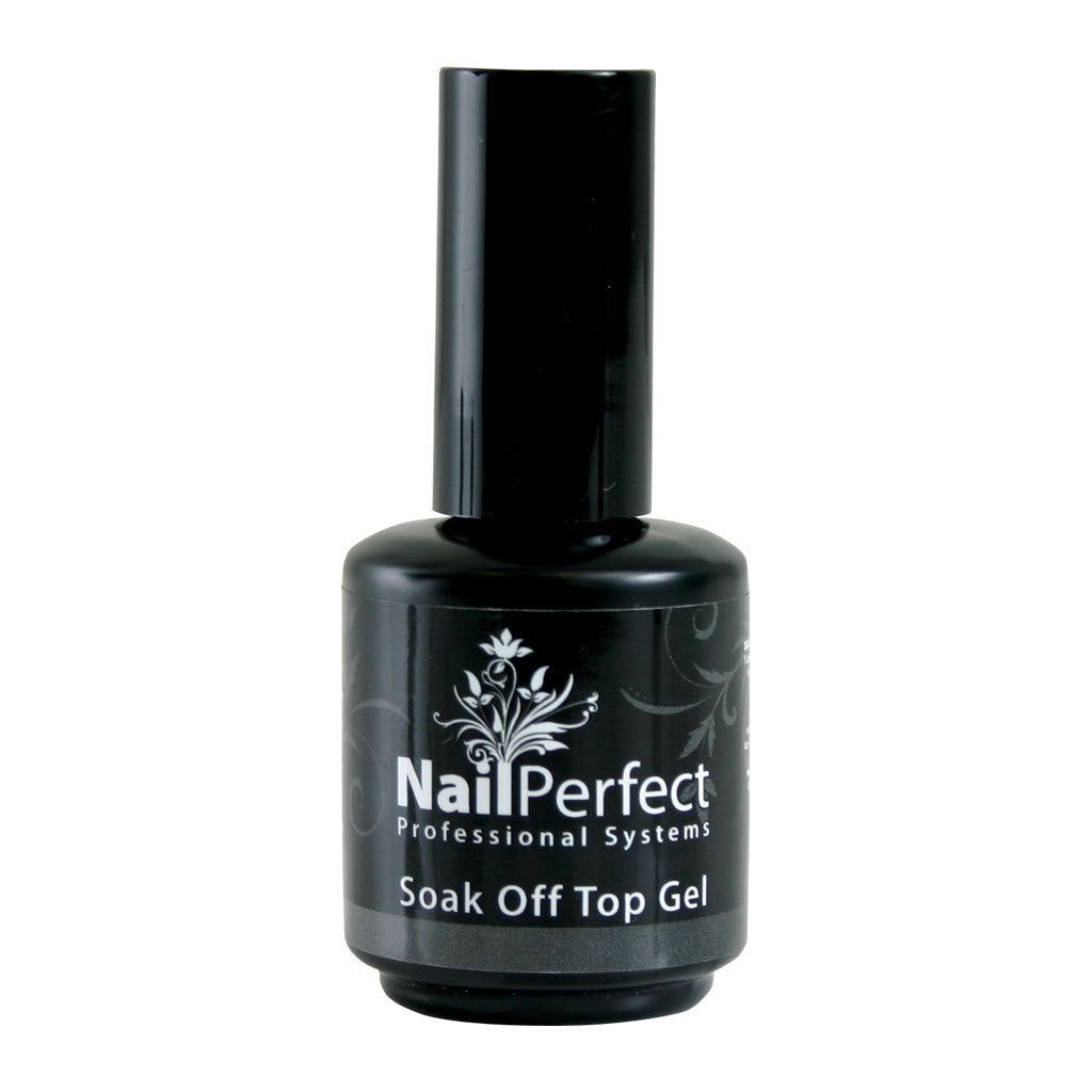 Top Coat - Soak-Off Top Gel