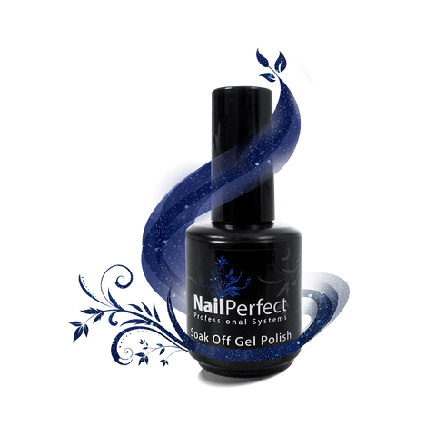 Soak Off Gel Polish - #064 Blue Romance