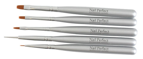 One Stroke Brush Set - 5 pieces