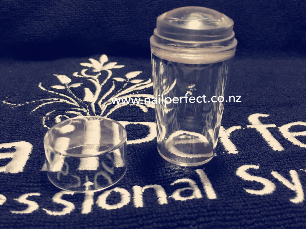 Clear Jelly Stamper with Lid