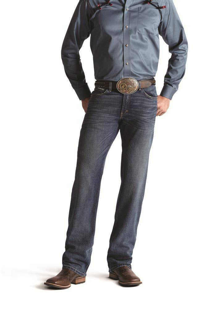 Jeans M2 Relaxed Clearwater - homme (Ariat 10010335)