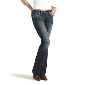 Jeans Ruby Frayed Edge Loveless - femme (Ariat 10013924)