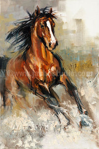 Peinture The Stallion - (Artiste Jennifer Brandon)
