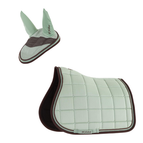 Fly mask and saddle pad kit Xcellence All Purpose (BR)
