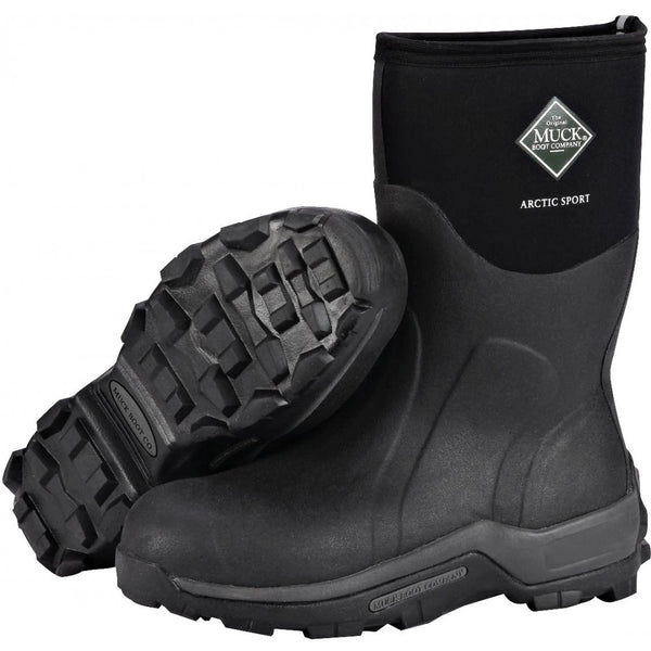 Botte imperméable et isolée Arctic Sport Mid Height - (Muck Boot ASM-000A)