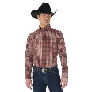 Chemise à manches longues George Strait - homme (Wrangler MGSE178)
