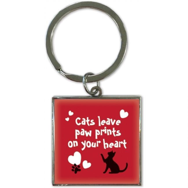 Porte-clé Cats Leave Pawprint - (7238)