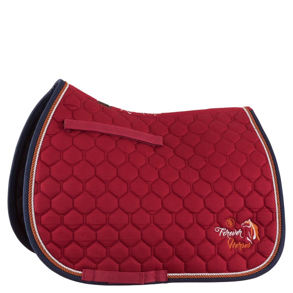 Tapis de selle dressage 4-Ever Horse - (BR 165125)