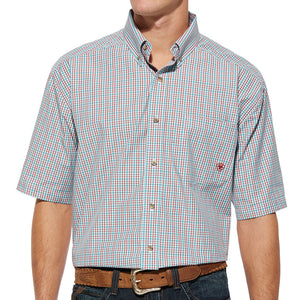 Chemise à manches courtes Mike - homme (Ariat 10014489)