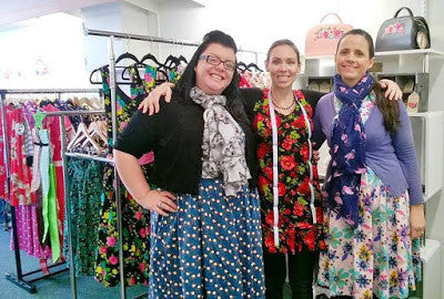 2015 June - In store visit with Two Lippy Ladies