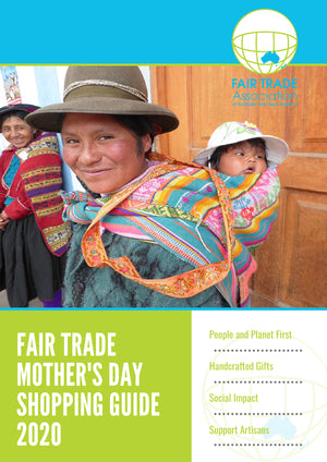 2020 April - Fair Trade Mother's Day Shopping Guide 2020