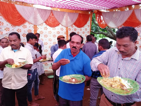 Mr Ashok Wedding Food
