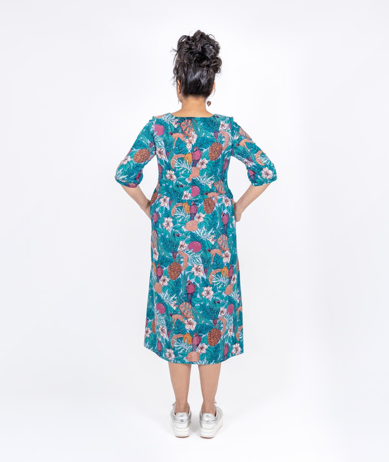 Luxury Print Dress by Holi Boli