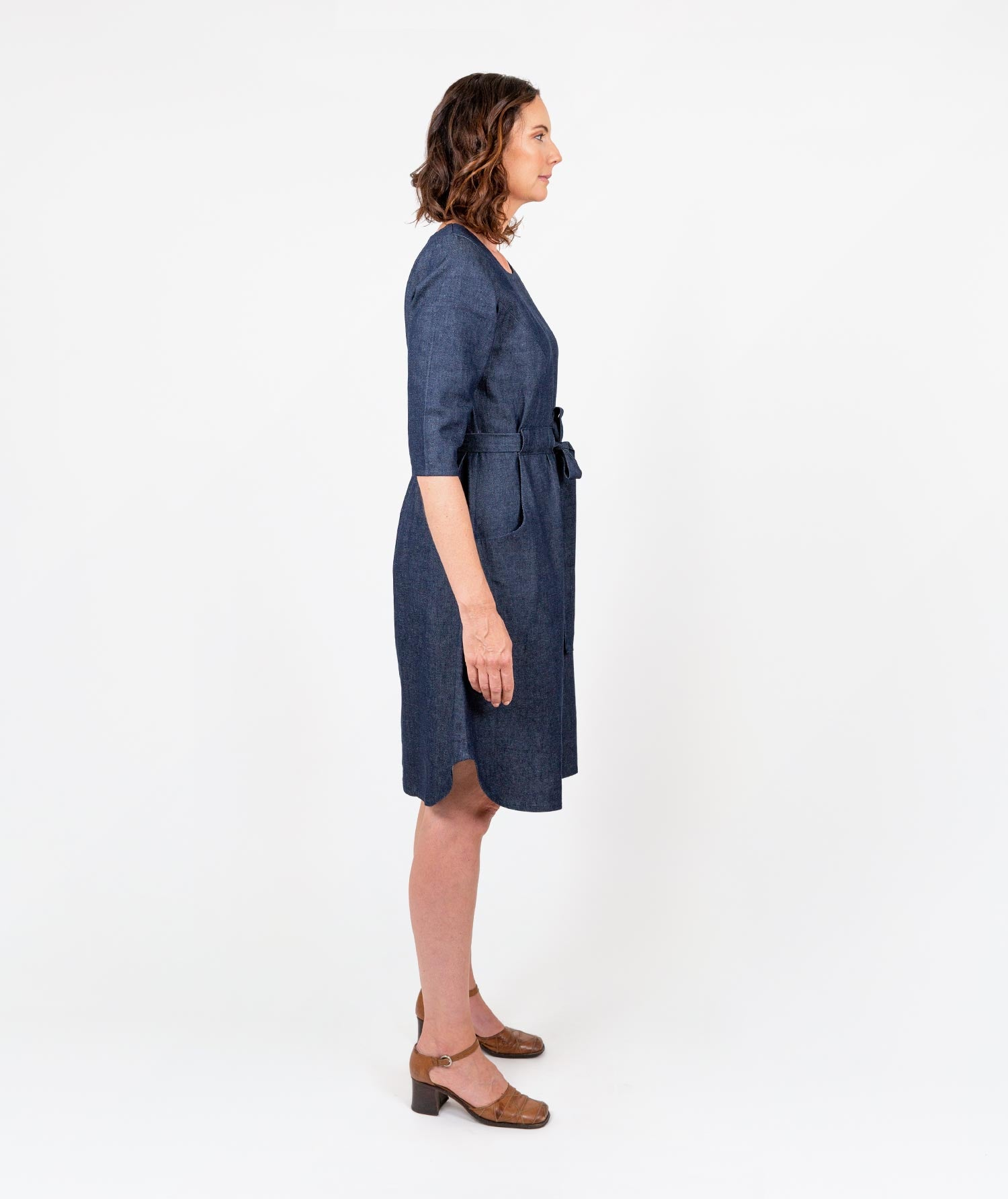 Revolution Denim Dress by Holi Boli