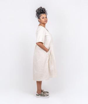 Creamy Cotton Dress