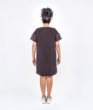 Relaxed Corduroy Dress by Holi Boli