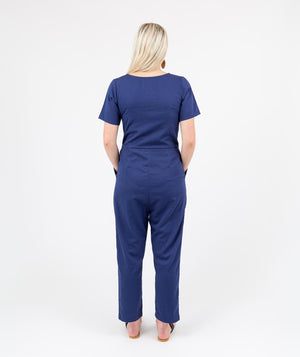Aviator Jumpsuit Navy