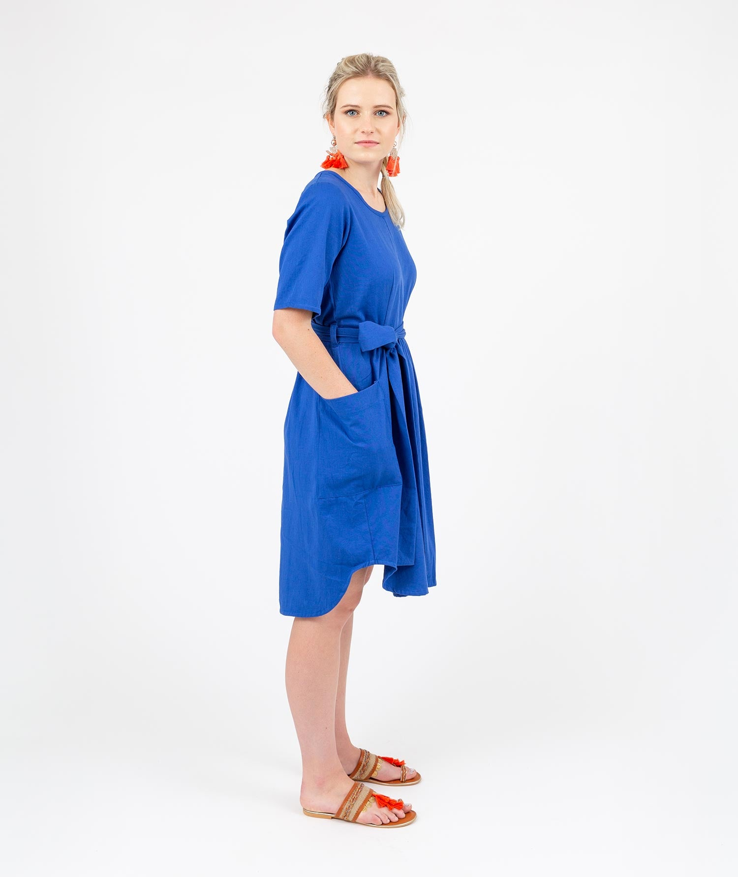 Holi Boli, Travel Dress Blue, Dress, ethical fashion