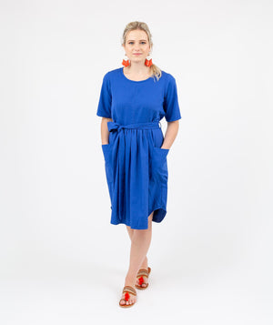 Travel Dress Blue
