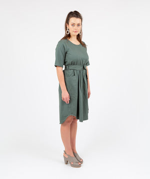 Holi Boli, Travel Dress Green, Dress, ethical fashion