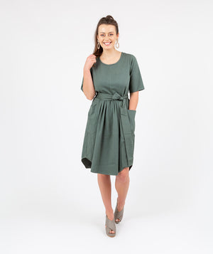Travel Dress Green