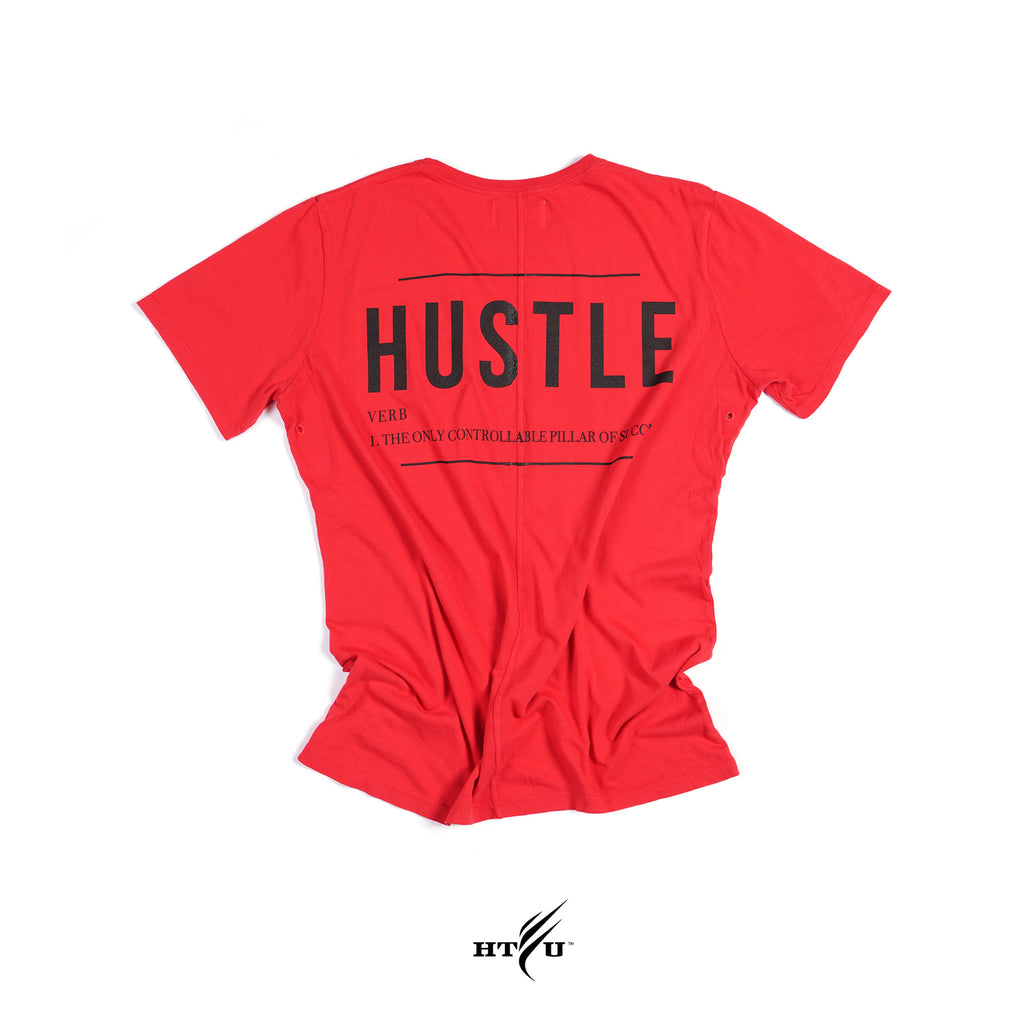 Hustle Tee - Gibson Red