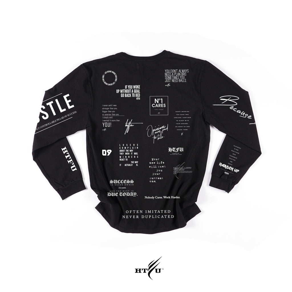 Storyboard LS Tee - Black