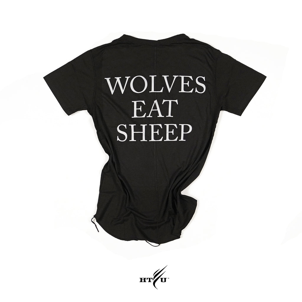 Wolves Eat Sheep - Black Capo Tee