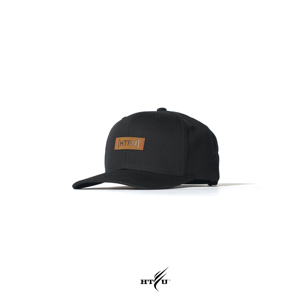 Censor Bar Snapback - Black