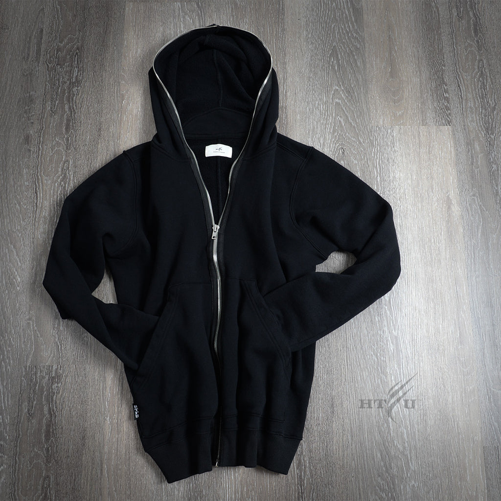 FairFax Full Zip Hoodie - Black