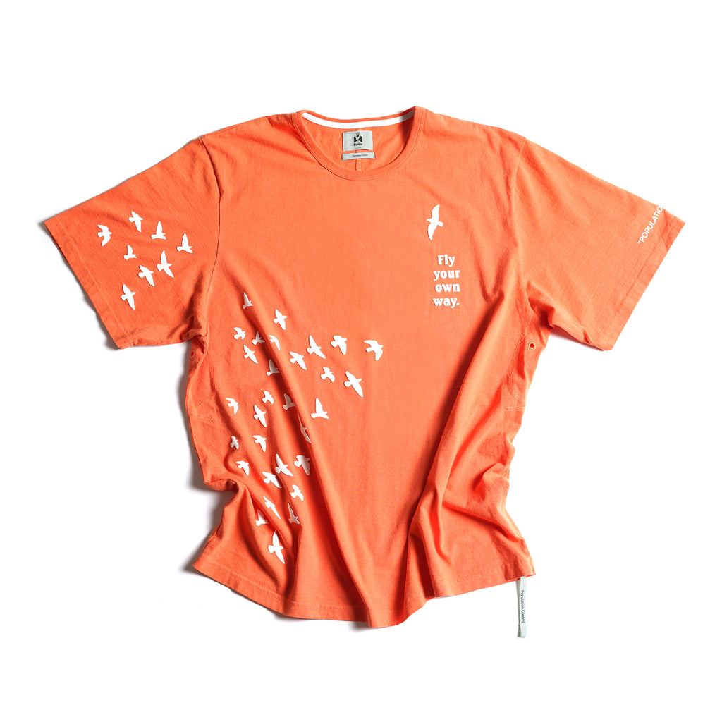 Fly Your Own Way Tee - Orange