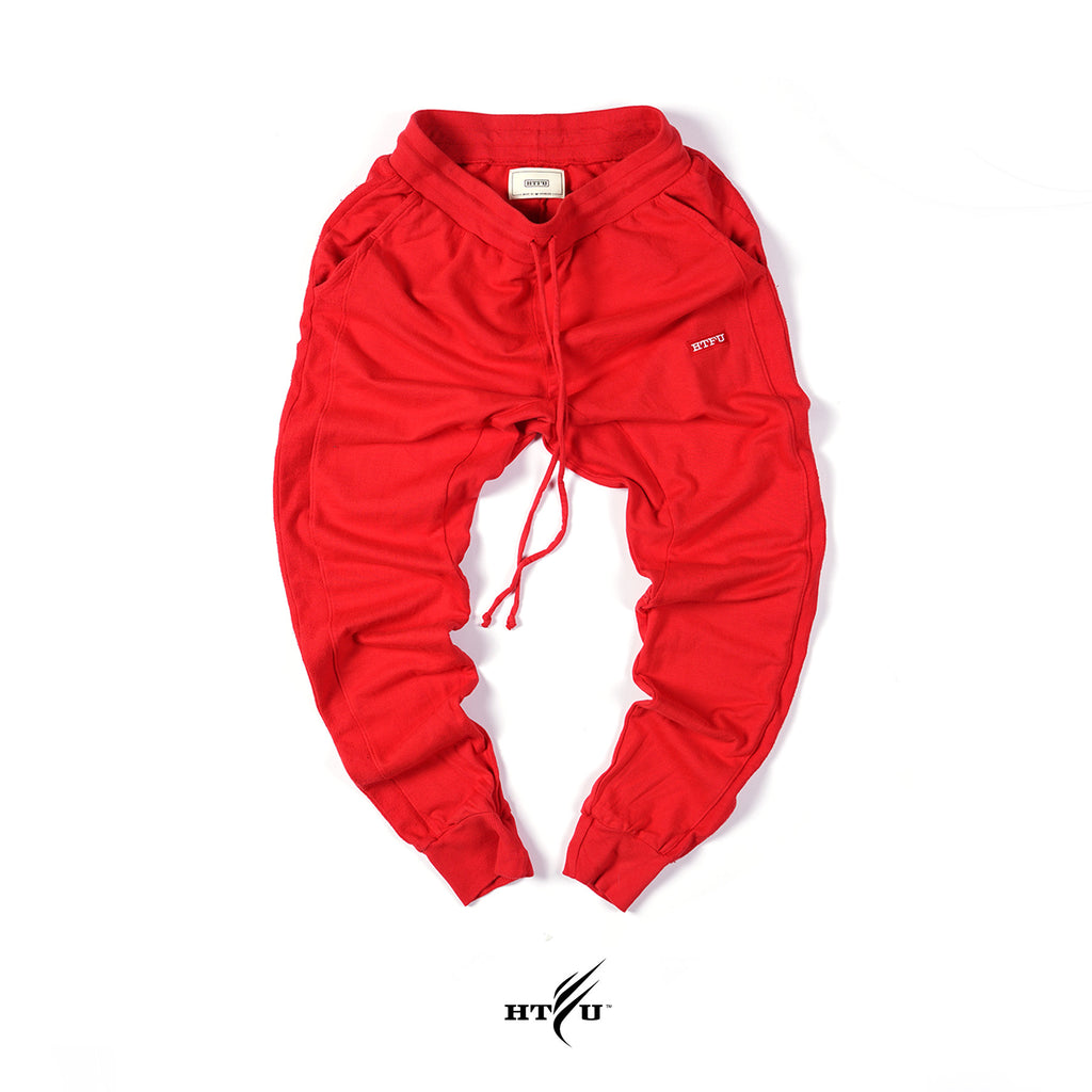 Box Logo Joggers - Red