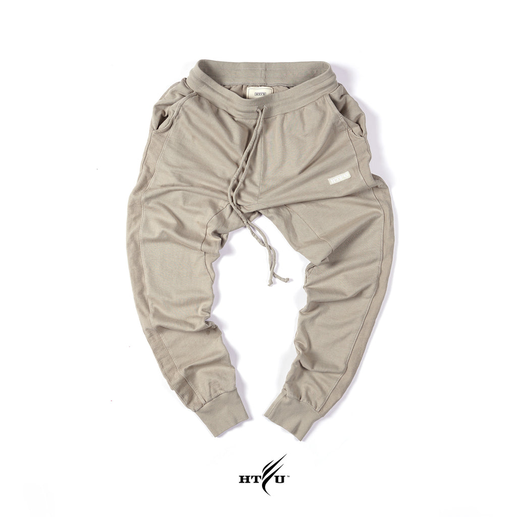 Box Logo Joggers - Tan
