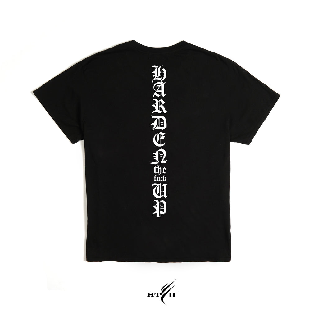 HTFU Tee -  Black - Ships March 7th