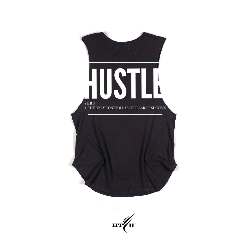 Hustle Tank - Black