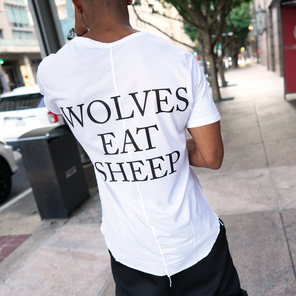 Wolves Eat Sheep - Grey Capo Tee