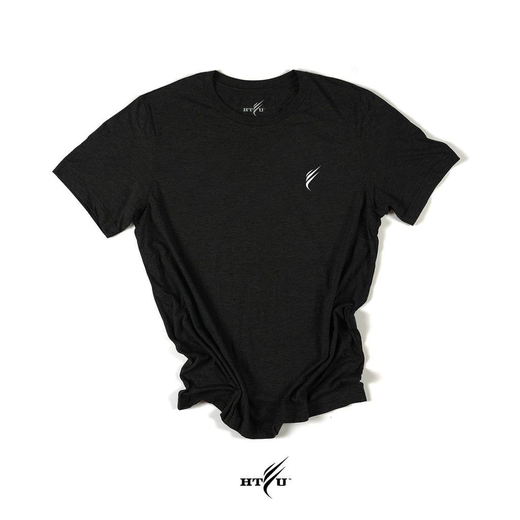 Level v2 Tee - Heather Black