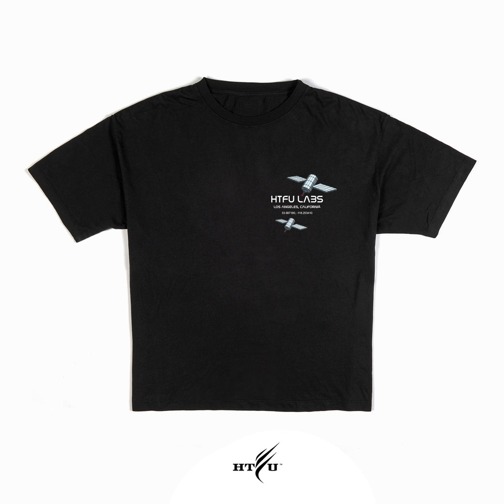HTFU Labs - Black Oversized Tee