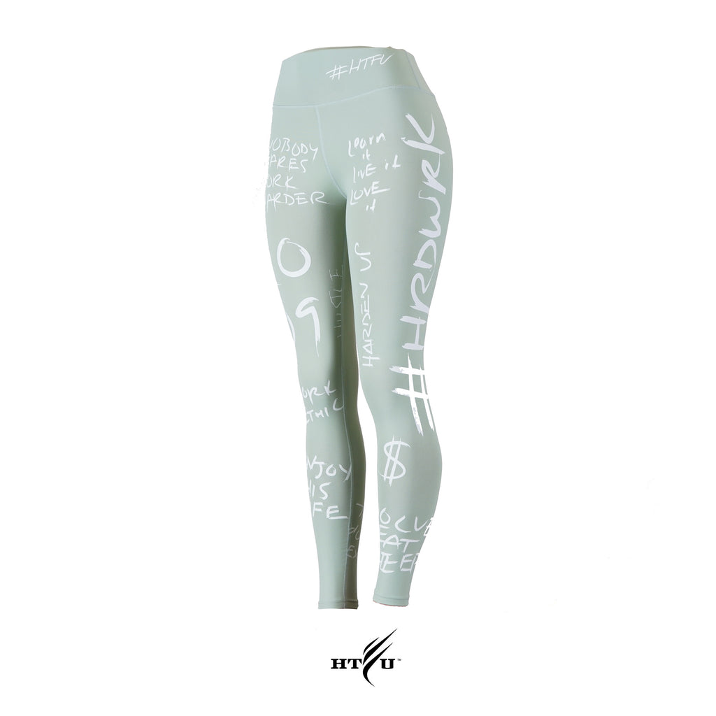 v4 High Waist Analog Leggings - Sage Green