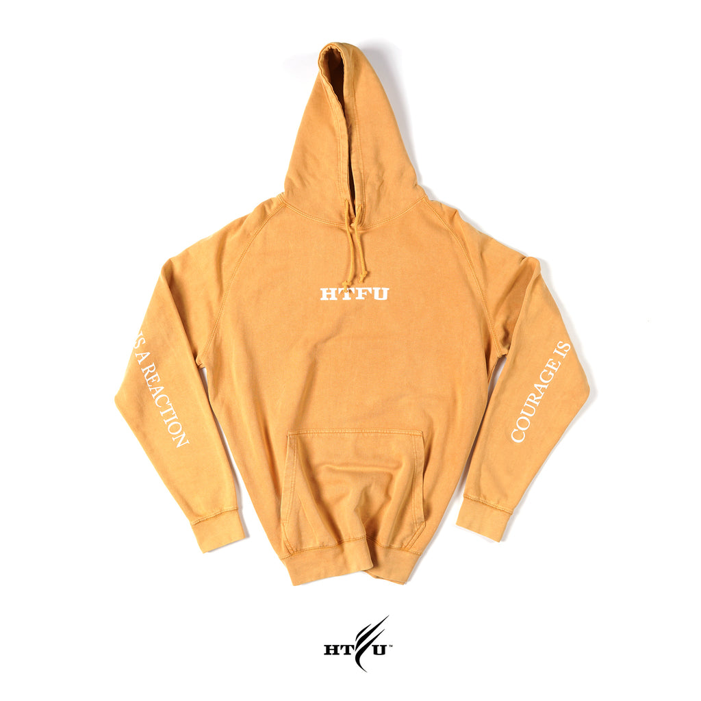 Acronym Pullover Hoodie - Goldenrod