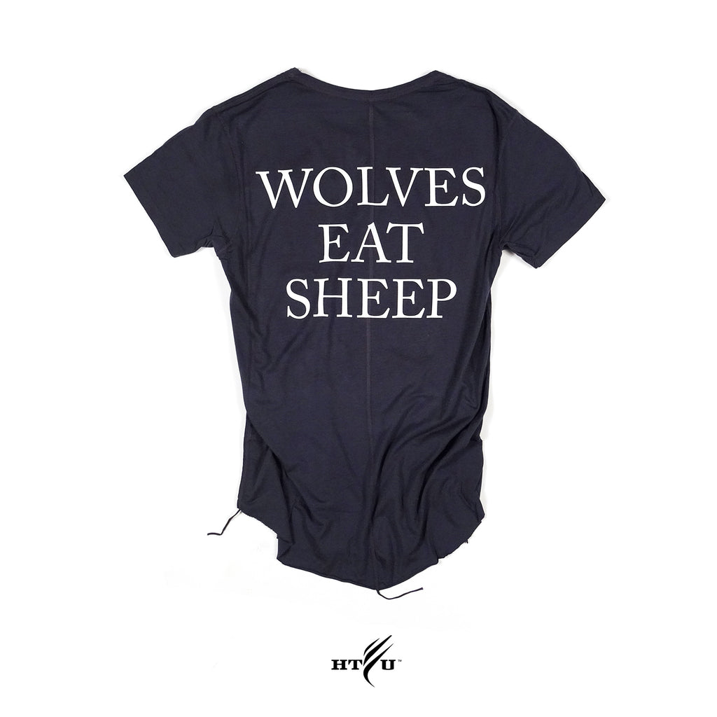 Wolves Eat Sheep -Navy Blue Capo Tee