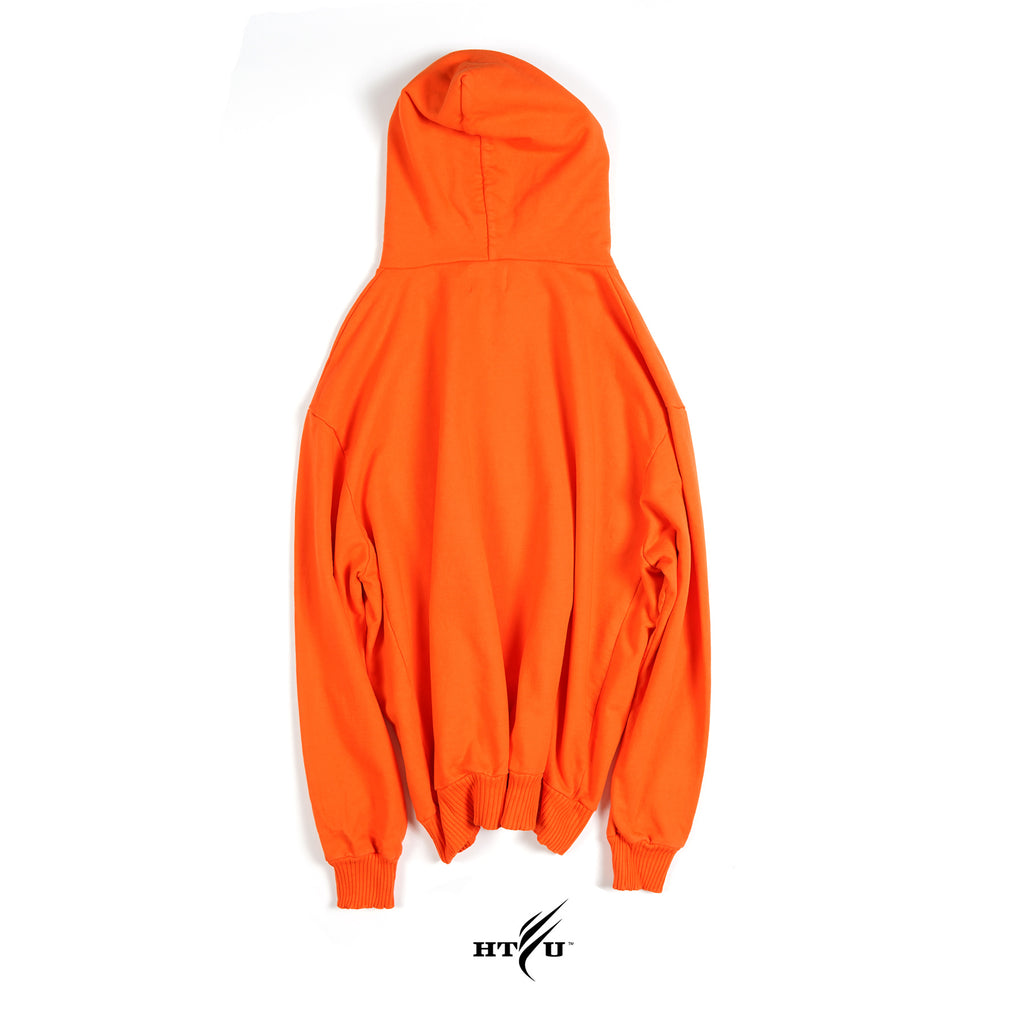 HTFU Oversized Hoodie - Orange