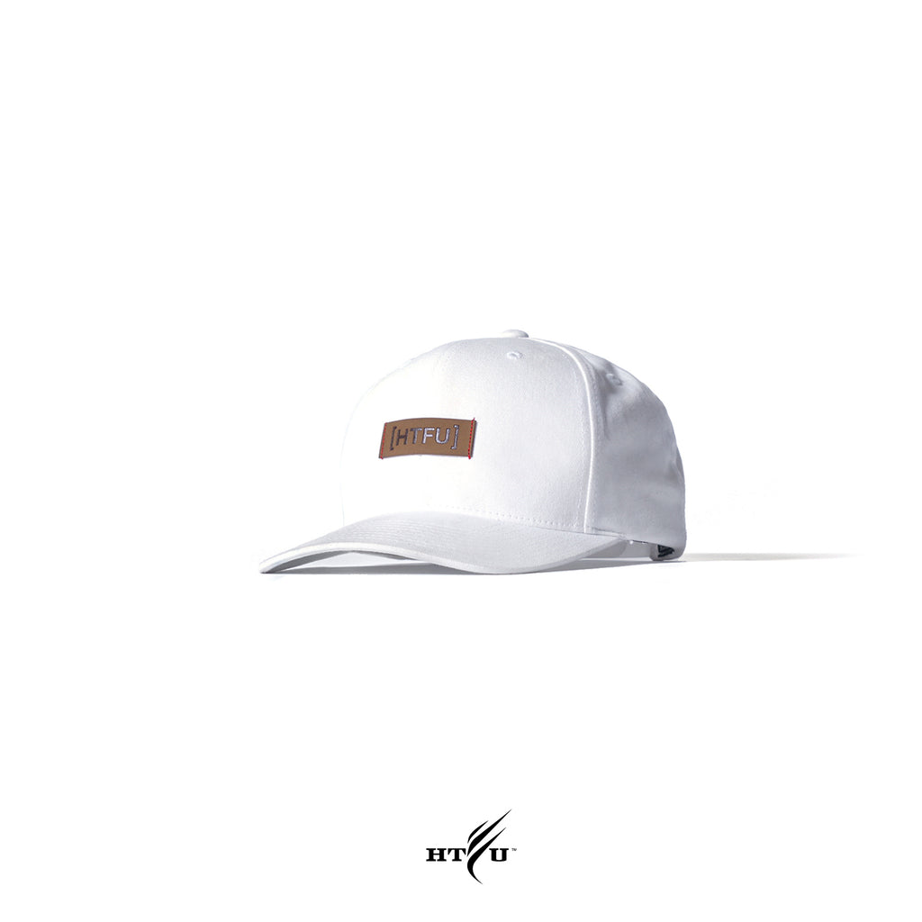 Censor Bar Snapback - White