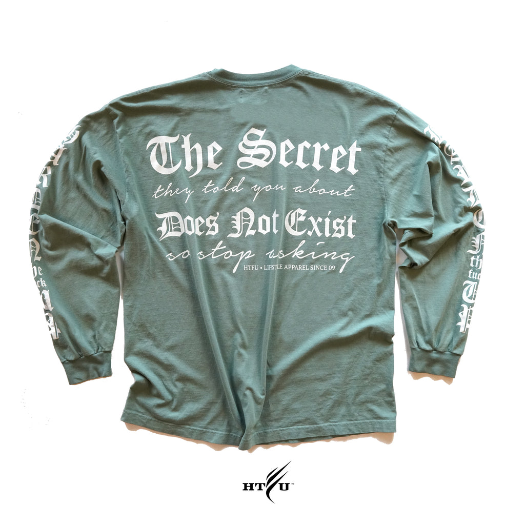 Secret LS Tee - Light Emerald