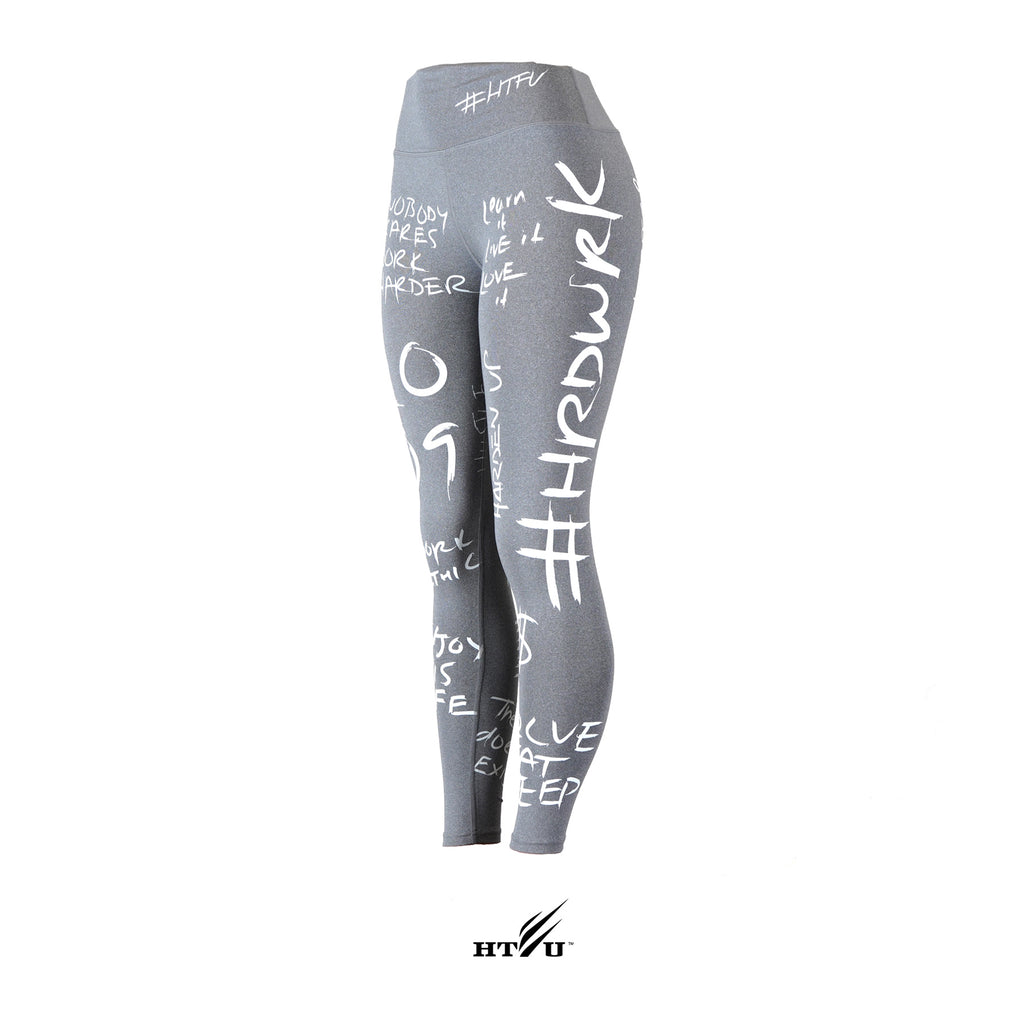v4 High Waist Analog Leggings - Dark Grey